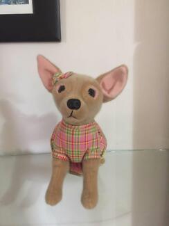 New Fuzzy Nation Plush Chihuahua Novelty Handbag