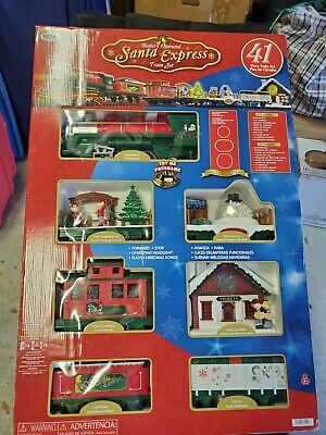 SANTA EXPRESS Train Set Christmas from EZTEC 41 Pieces