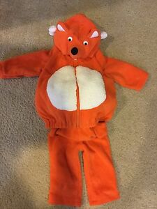 6-9 month fox Halloween costume