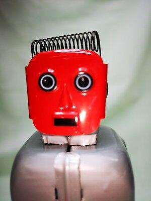 #07/ Blechspielzeug TinToys Blechroboter RED FACE ROBOT  Made in China