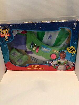 Buzz Light Year Dress Up (Disney Pixar Mattel Vintage New Toy Story 2 Buzz Lightyear Deluxe Dress-Up)