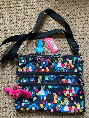 Kipling - Alvar - Alice in Wonderland Crossbody Bag - EUC