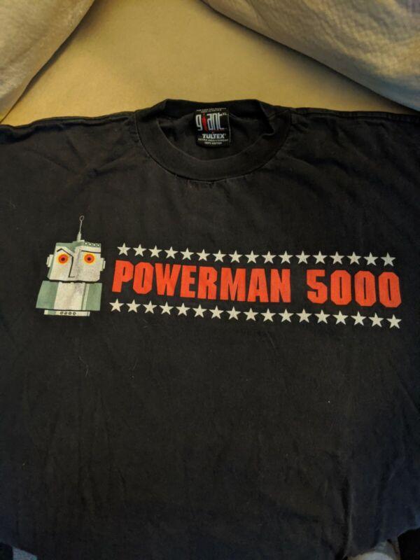 Powerman 5000 Rare XL Shirt
