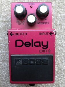 Rare Vintage Boss DM-2 Delay Pedal