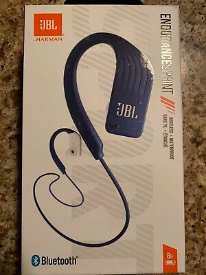 JBL Endurance Sprint Waterproof Wireless In-Ear Headphones - Blue - Sealed for sale  Shipping to India