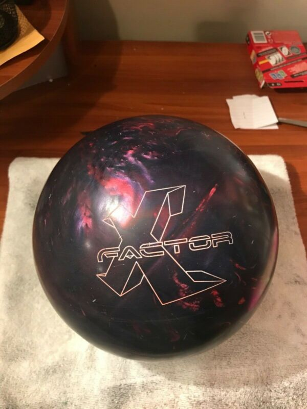 bowling ball 15lb used X Factor