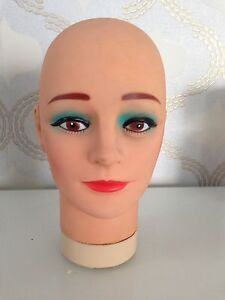 soft rubber mannequin head for training, Wig, Hat, Model, Costume Karrinyup Stirling Area Preview