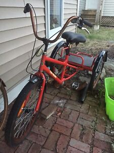 Adult Tri-Rider red tricycle