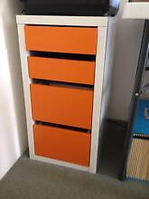 IKEA 4 drawer storage cabinet Meadowbank Ryde Area Preview