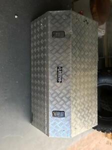 Rhino ally checked plate tool box 1100x600x500 | Tool