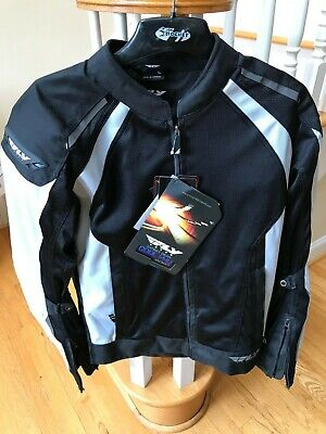 ***Fly Racing Cool Pro Mesh Riding Jacket Size Large***