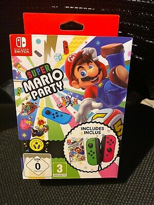 Super Mario Party Limited Edition With Pink And Green Joy-con (Nintendo Switch)