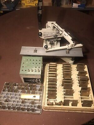 New Hermes Engravograph Engraving Machine W 1 2 Fonts Tips Missing Motor