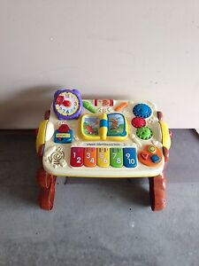 Toddler learning table