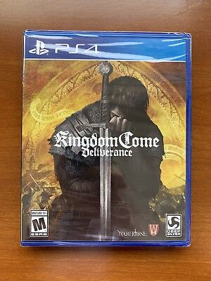 Kingdom Come: Deliverance (Sony PlayStation 4 PS4, 2018) Brand New