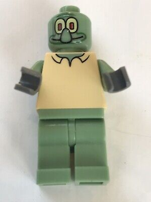 LEGO Part-Bob003 Squidward MIni-Figure From Spongebob Squarepants 3825 3827