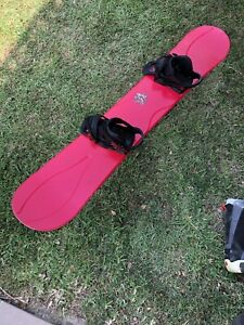 Ride Snowboard and Burton Cartel Bindings Crows Nest North Sydney Area Preview