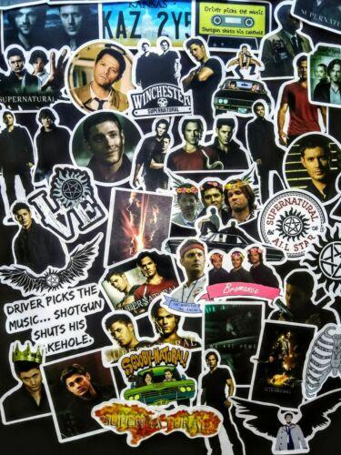 45, Sticker, Decals, Supernatural, Show, Sam, Dean, Winchester, Castiel, Horror