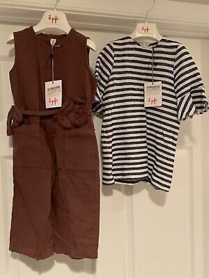 NWTS Girls IL GUFO Pant Suit and Dress Size 2