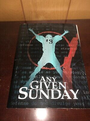Any Given Sunday Press Kit Folder ,pictures Al Pacino