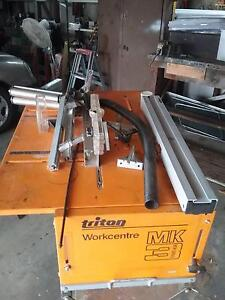 Triton Workcentre MK3, Router & Jigsaw Stand, plus accessories Golden Beach Caloundra Area Preview