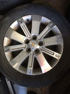 "18"" Chevrolet Rims (5x120 bolt) with Tires"