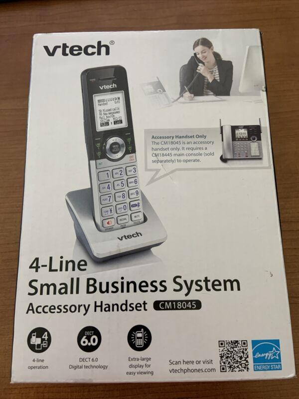 Vtech 4-Line Small business system Deskset Assorted Styles CM18045