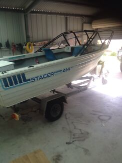 Stacer 4.14m 35hp Johnson  Port Lincoln 5606 Port Lincoln Area Preview
