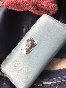 Light blue Michael kors wallet