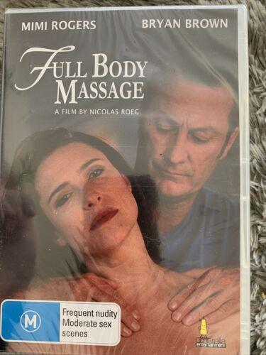 DVD Full Body Massage 1995 - Mimi Rogers, Bryan Brown, Nicolas Roeg Sealed - $17.00