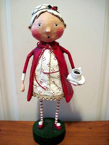 ESC Lori Mitchell New Christmas  Rozy Cozy Mrs. Claus Figure