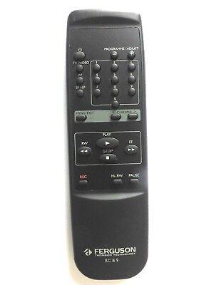 FERGUSON VCR REMOTE CONTROL RC B9