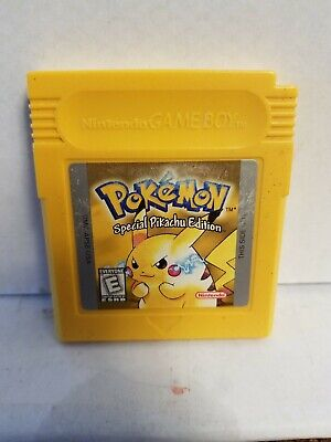 Pokémon Yellow Version: Special Pikachu Edition (Game Boy, 1999)Authentic