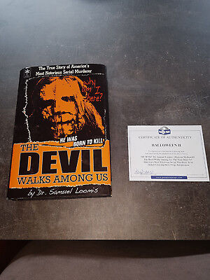 Extremely Rare! Halloween 2 Dr. Loomis Devil Walks Among Us Screen Used - Dr Loomis Halloween 2