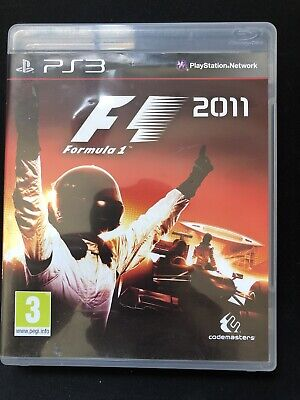 PS3 PlayStation Formula 1 F1 2011 Game for sale  Shipping to Nigeria