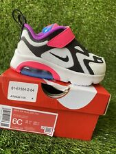 TODDLER GIRLS: Nike Air Max 200 Shoes, Hyper Pink - Size ...