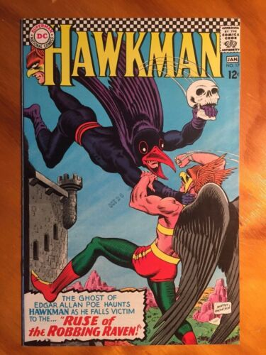 HAWKMAN #17 VERY HIGH GRADE CONDITION MURPHY ANDERSON DC SILVER AGE