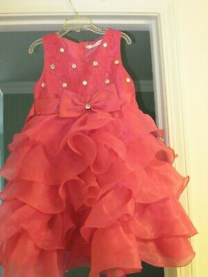 Hot Girls In Dresses (AIR MENG BABY GIRLS SIZE 6-7 VERY DRESSY DRESS IN HOT PINK)