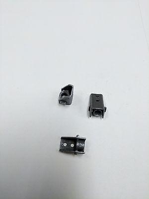 6-32 Offset Angle Nut Plates W Floating Self Locking Nut - Cadmium Lot Of 10