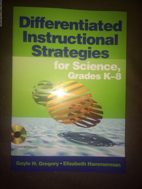 NEW Differentiated Instructional Strategies for Science, Grades K-8 [With CDROM]