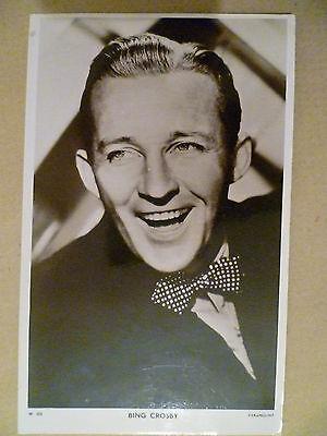 Vintage 1940s Picturegoer POSTCARD - Bing Crosby No. W.322