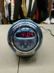 Craig Dual Alarm Clock Radio Projection Cr41476