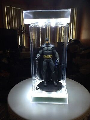 DC Batman & Villains Action Figure Lot of 14 with Acrylic Cases ** EUC ** Gotham