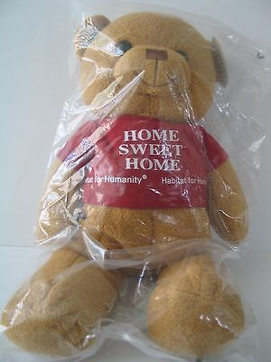Habitat For Humanity Teddy Bear   Sawyer Bnip