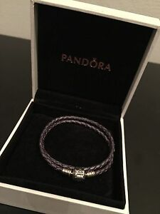 PANDORA LEATHER BRACELET Arncliffe Rockdale Area Preview