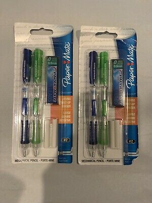 Paper Mate Clear Point Mechanical Pencil Starter Set 0.7mm Assorted 2-pack