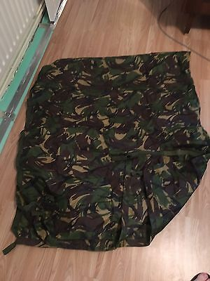 Genuine British Army Issue MTP Multicam Shelter Basha Sheet Tarp