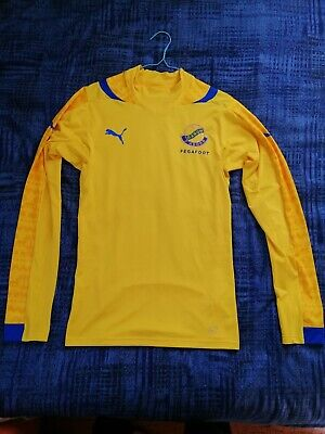 Gabon Puma PLAYER ISSUE ACTV Soccer Jersey  2014 Size L image