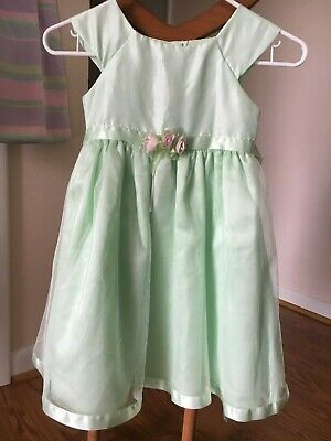 Green Dresses For Little Girls (Great For Easter Youngland little girls green tulle dress size)