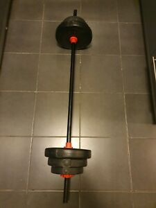 Barbell. 20kg plus weight